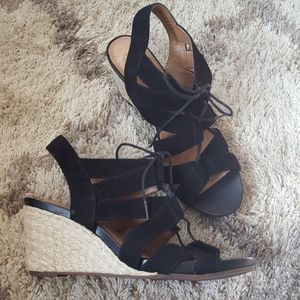CLARKS Acina Chester wedge sandal